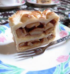 【バレンタイン】りんごのパイケーキ