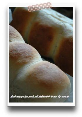 らくちん♪低温発酵パン(卵不使用)