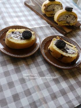 オレオ ロール ケーキ
