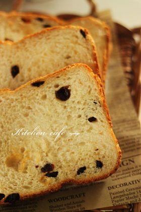 ホエーでシナモンレーズン食パン