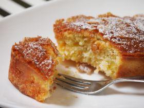 りんごとLEMONのバターケーキ
