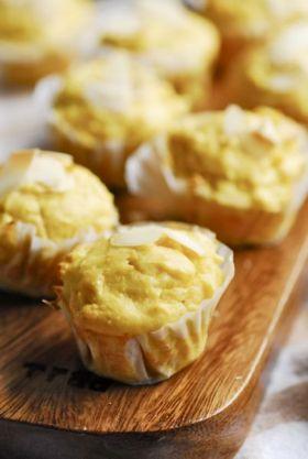 卵、バター不使用!豆腐かぼちゃのマフィン