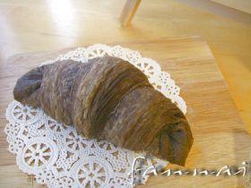 【天然酵母】2種ココアの白チョコワッサン