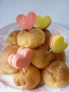 クッキーで作る*ケーキピック