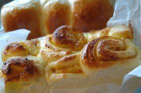 スイートカボチャのぐるぐるパン