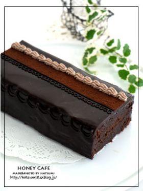 ●しっとり、乙女のチョコケーキ