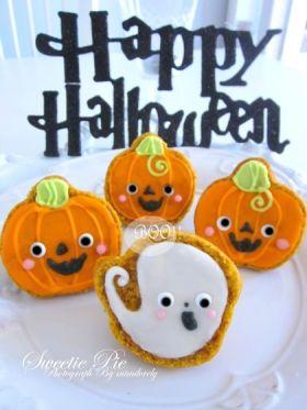 【ハロウィン】パンプキンカップケーキ