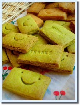 ●ざくざく抹茶クッキー