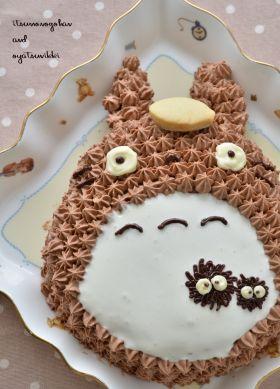 トトロのチョコレートケーキ