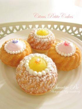 ●爽やかシトラスのPetite Cake