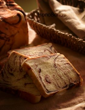 ●あんマーブル食パン