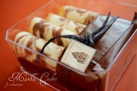 ●マーブルシガールクッキー