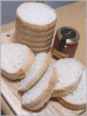 ラウンド型でふわふわ食パン