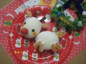 【クリスマス】食パンDEトナカイ