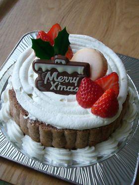 【クリスマス】切り株ケーキ