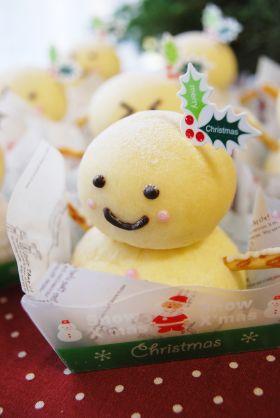 【クリスマス】思わずにっこり雪だるま♪
