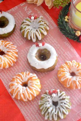【クリスマス】リースの米粉フィナンシェ
