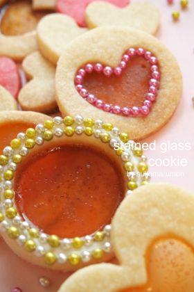 【クリスマス】ステンドグラスクッキー