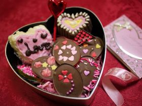 【バレンタイン】トッピングチョコレート♪