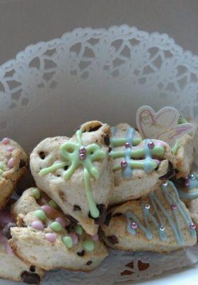 【バレンタイン】クッキー風プチスコーン