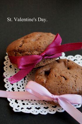 【バレンタイン】チョコとクルミマフィン