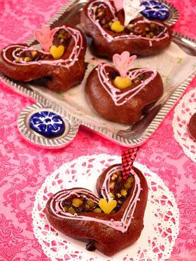 【バレンタイン】マロンガナッシュパン