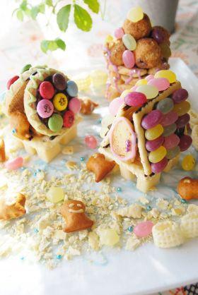 海に浮かぶ、お菓子のお家!