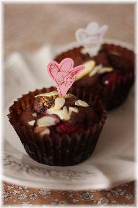 【バレンタイン】ベリーな濃いチョコケーキ