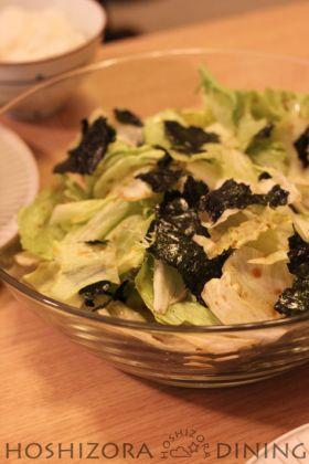 超簡単☆海苔サラダ