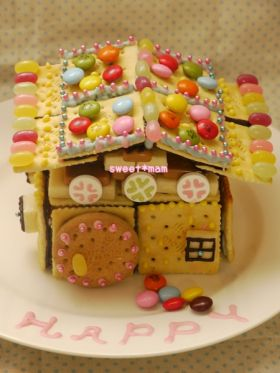 お菓子の家♪