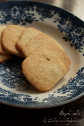 アーモンドパウダーたっぷりクッキー