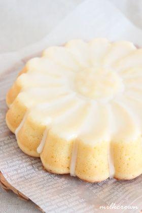 柚子のウイークエンド風グラスケーキ