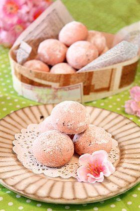 桜のザクほろ〜スノーボール☆