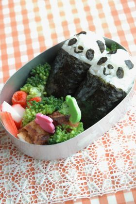 【おにぎり】食べやすいパンダおにぎり