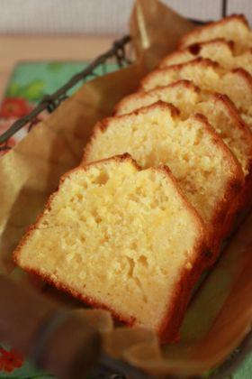 ●レモンとココナッツのパウンドケーキ