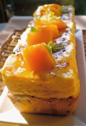 ●冷たいケーキ♪マンゴーのシブースト