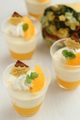 ●お豆腐deオレンジレアチーズ