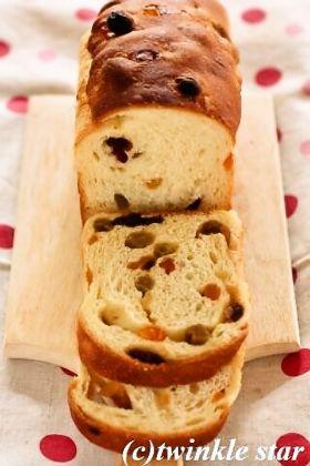 フルーツケーキみたいなパン