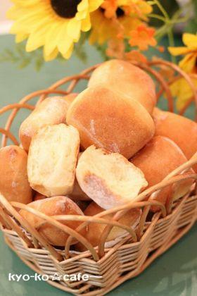 切りっぱなしのおやつパン