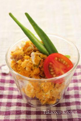 【クルミ】クルミとチーズのかぼちゃサラダ