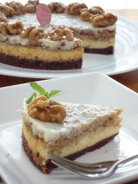 【クルミ】クルミのベイクドチーズケーキ