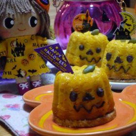 【ハロウィン】かぼちゃのチーズケーキ