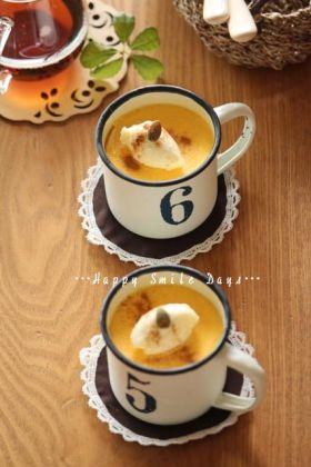 かぼちゃ プリン 蒸す