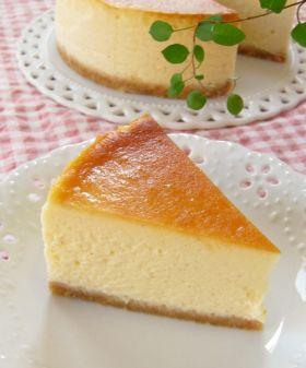 とろける♪ニューヨークチーズケーキ