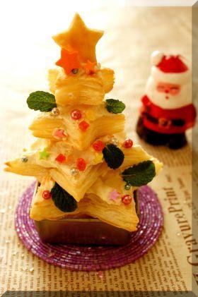 * パイシートde簡単クリスマスツリー♪