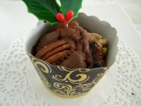 チョコとミンスのゴージャスマフィン