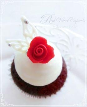 【バレンタイン】レッドベルベットケーキ