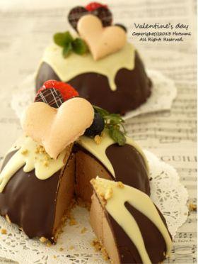 【バレンタイン】お椀で作るドームケーキ