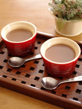 【バレンタイン】チョコレートのプディング