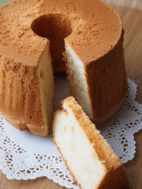 バターミルクシフォン